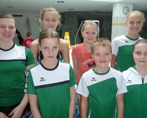 Nachwuchsschwimmer  in Villingen